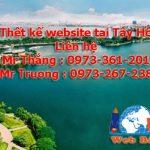 Thiết kế website tại Tây Hồ giá rẻ chuẩn seo chuyên nghiệp