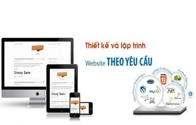 Thiết kế website theo yêu cầu bán thiết bị y tế