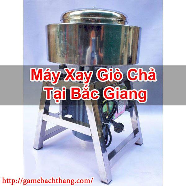 Máy Xay Giò Chả Tại Bắc Giang